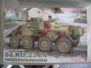 Le SdKfz 234/4 en cours de finition SdKfz-234-11-300x225